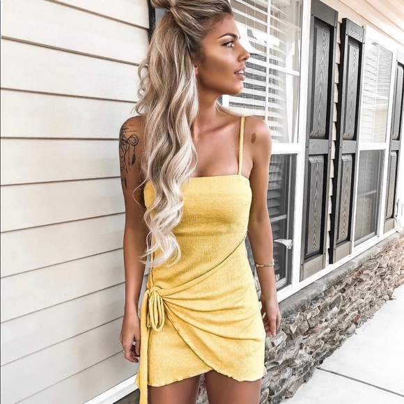 d422655b0ef3 Stelly Clothing Dresses | Sunshine Yellow Dress | Poshmark